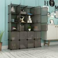 Multi-Cube Stackable Storage Organizer Shoes Clothes Shelving Rack Closet