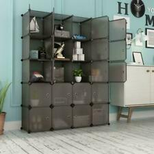 Multi-Cube Stackable Storage Organizer Shoes Clothes Shelving Rack Closet