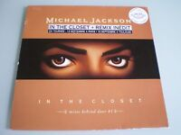 VINYLE MAXI 12'' MICHAEL JACKSON IN THE CLOSET MIXES BEHIND DOOR # 1 RARE 1992