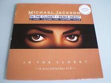 VINYLE MAXI 12'' MICHAEL JACKSON IN THE CLOSET MIXES BEHIND DOOR # 1 RARE 1992
