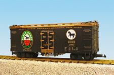 Usa Trains G Scale U.S. Reefer Car R16413 Black Horse Ale Black/Gold