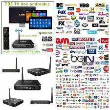 4K IPTV Arabic English Sports Turkish WI-FI TV Box Android Channels MBC Bein OSN