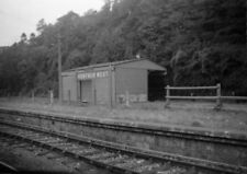 PHOTO  SR VENTNOR WEST RAILWAY STATION ON 12TH SEPT 1952