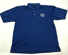 Wildcats Dry Fit Polo Shirt Men's Size Medium M Blue Short Sleeve Embroidered