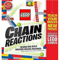 Lego Chain Reactions Book By Pat Murphy Brand New Paperback