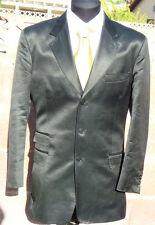 Paul Smith Black Shimmer London 3-Button Sharkskin 38R/48EU Suit Jacket & Pants