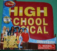 HIGH SCHOOL MUSICAL 2 CD BOARD GAME DISNEY HIGH SCHOOL MUSICAL BOARD GAME AGE 7+
