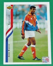 FOOTBALL CARD UPPER DECK 1994 USA 94 ARON WINTER NEDERLAND PAYS-BAS KNVB