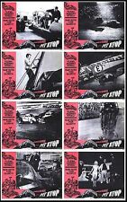 DEMOLITION DERBY RACING orig 1969 lobby card movie posters ASCOT PARK SPEEDWAY