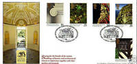 11 APRIL 1995 NATIONAL TRUST BRADBURY LIMITED EDITION FIRST DAY COVER SHS