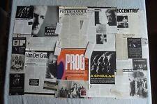 VAN DER GRAAF GENERATOR - PETER HAMMILL - MAGAZINE CUTTINGS COLLECTION - X48.