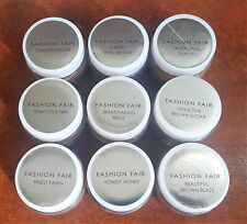 2 Packs - New Fashion Fair Perfect Finish Souffle All Day Makeup - Tester No Box