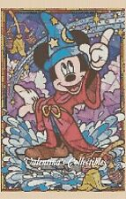 Counted Cross Stitch MICKEY MOUSE Stained Glass - COMPLETE KIT #10-37 KIT