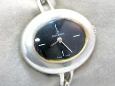 GOLANA Silber 800 Silver Lady Watch Damen Armbanduhr Handaufzug um 1980