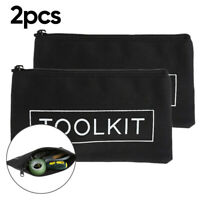 Zipper-Storage-Tool-Bag Pouch Organize Small Parts Hand Tool Plumber Electrician