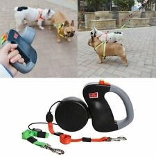 3m Pet Auto Retractable Double Head Traction Rope Walking Leash for Two Dog Cat