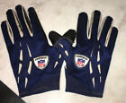 New England Patriots NFL Game Used Worn Gloves Skill Position NFL Equipment