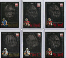 COLIN KAEPERNICK 2013 ELITE PORTRAITS RUBY RED #d 16/25 49ERS INVEST SICK CARD