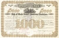 City of Providence - State of Rhode Island and Providence Plantations - Bond