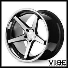 "22"" FERRADA FR3 MACHINED CONCAVE WHEELS RIMS FITS DODGE CHALLENGER RT SE"