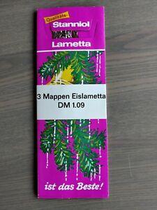 Stanniol Lametta silber neu OVP