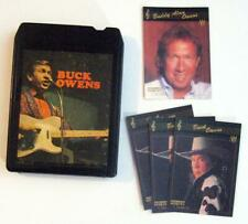BUCK OWENS ~ Eight Track Tape and Lot of Trading Cards