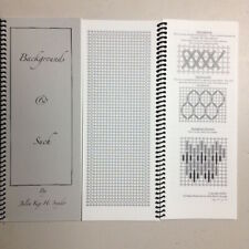 Needlepoint Stitch Reference Book Julia Snyder & More Backgrounds & Such