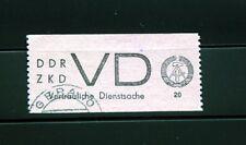 DDR DIENST D Michel Nr. 2 gestempelt  350 Euro Michel