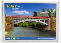 BNIB N GAUGE KIBRI 37668 RAIL OVER BRIDGE KIT