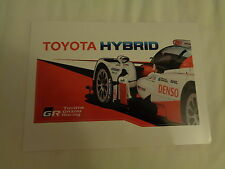 STICKER LE MANS 24 HOURS 2017 / TOYOTA HYBRID