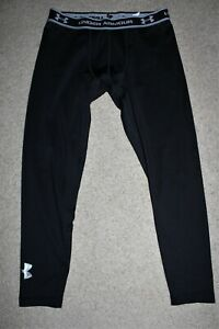 Youth Boy XL X-Large 16-18 Under Armour Fitted Coldgear Base Layer Tights Pants