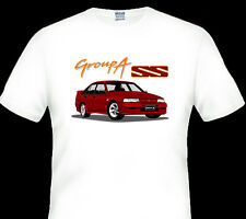 HOLDEN   VN  GROUP A SS  COMMODORE  WHITE TSHIRT MEN'S LADIES  KID'S SIZES