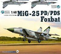 Kitty Hawk KH80119 1:48  MiG-25 PD/PDS Foxbat MODEL KIT