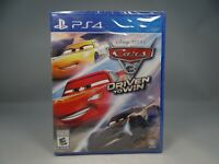 Cars 3: Driven to Win (Sony PlayStation 4, 2017) * NEW *