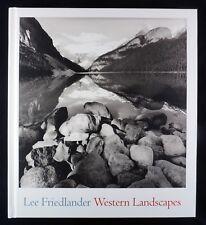Lee Friedlander Western Landscapes New & Signed Photography Book
