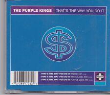 The Purple Kings-Thats The Way You Do It cd maxi single
