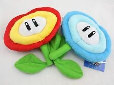 Super Mario Bros Fire Flower & Ice Flower Plush Doll Soft Toy Nintendo CC