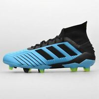 adidas Predator 19.1 FG Firm Ground Football Boots Mens Blue Shoes Soccer Cleats