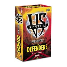 Vs System: Marvel Set Upper Deck 2PCG The Defenders TCG