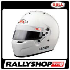 Bell Kart Helmet Kc7 CMR Size 54 Cm White Full Face Karting Snell CMR 2007