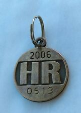 Vintage Dog tag Croatia HR 2006. Veterinary Station of the city of Zagreb 0513 !
