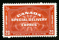 Canada Stamps # E4 Jumbo OG NH Scott Value $125.00