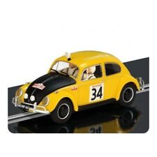 Scalextric C3412 VW Beetle Monte Carlo Challenge - slot car with working lights