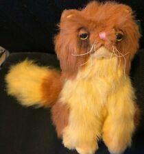 "Harry Potter Crookshanks Cat Plush Toy 9"" x 14"" New w/ Tag Authentic"