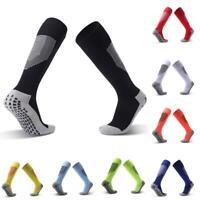 Men Anti-Slip Soccer Sports Socks Football Baseball High Stockings Prof