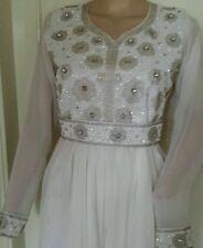 Dubai Farasha Kaftan Abaya maxi dress jalabiya jilbab beadwork eid special