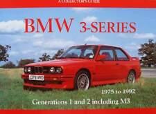 BOEK/LIVRE/BOOK : BMW 3 SERIE 1975 - 1992 (generation 1 & 2 et M3,oldtimer)