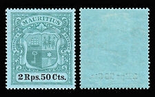 Mint Hinged Edward VII (1902-1910) Mauritian Stamps