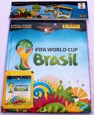 Panini WM 2014 Brasilien - Starter Hardcover Deluxe Leeralbum + 4 Stickertüten