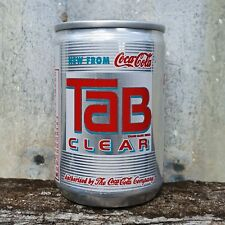 Rare TAB CLEAR COLA Japanese SAMPLE Can 135ml STILL FULL Coca-Cola 1992